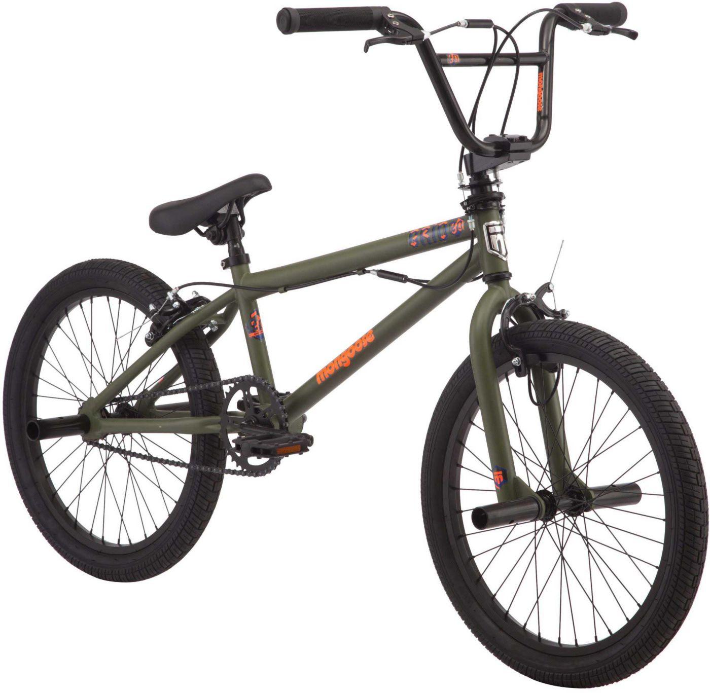 Mongoose Boys' Grid 90 BMX Bike