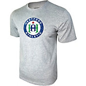 Icon Sports Group Men's Hartford Athletic Logo Heather Grey T-Shirt