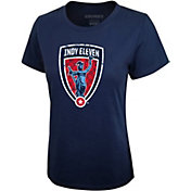 Icon Sports Group Women's Indy Eleven Logo Blue T-Shirt