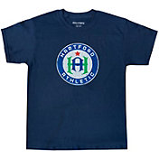 Icon Sports Group Youth Hartford Athletic Logo Navy T-Shirt