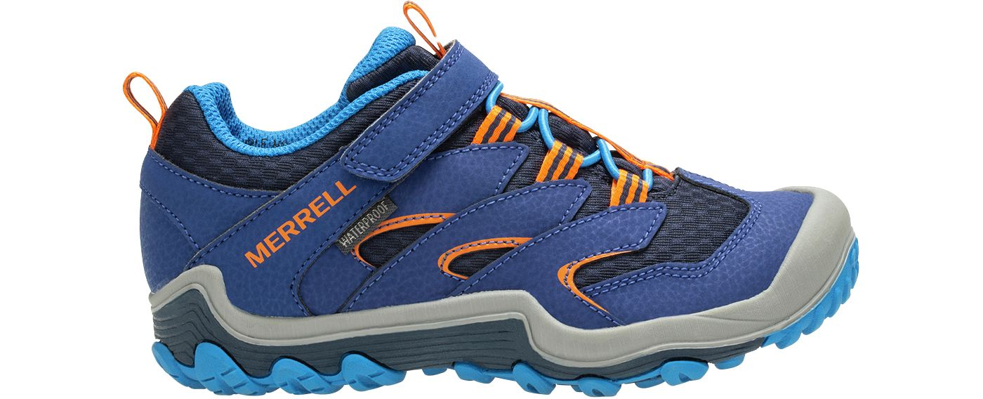 Merrell Kids' Chameleon 7 Access Mid A/C Waterproof Hiking Boots