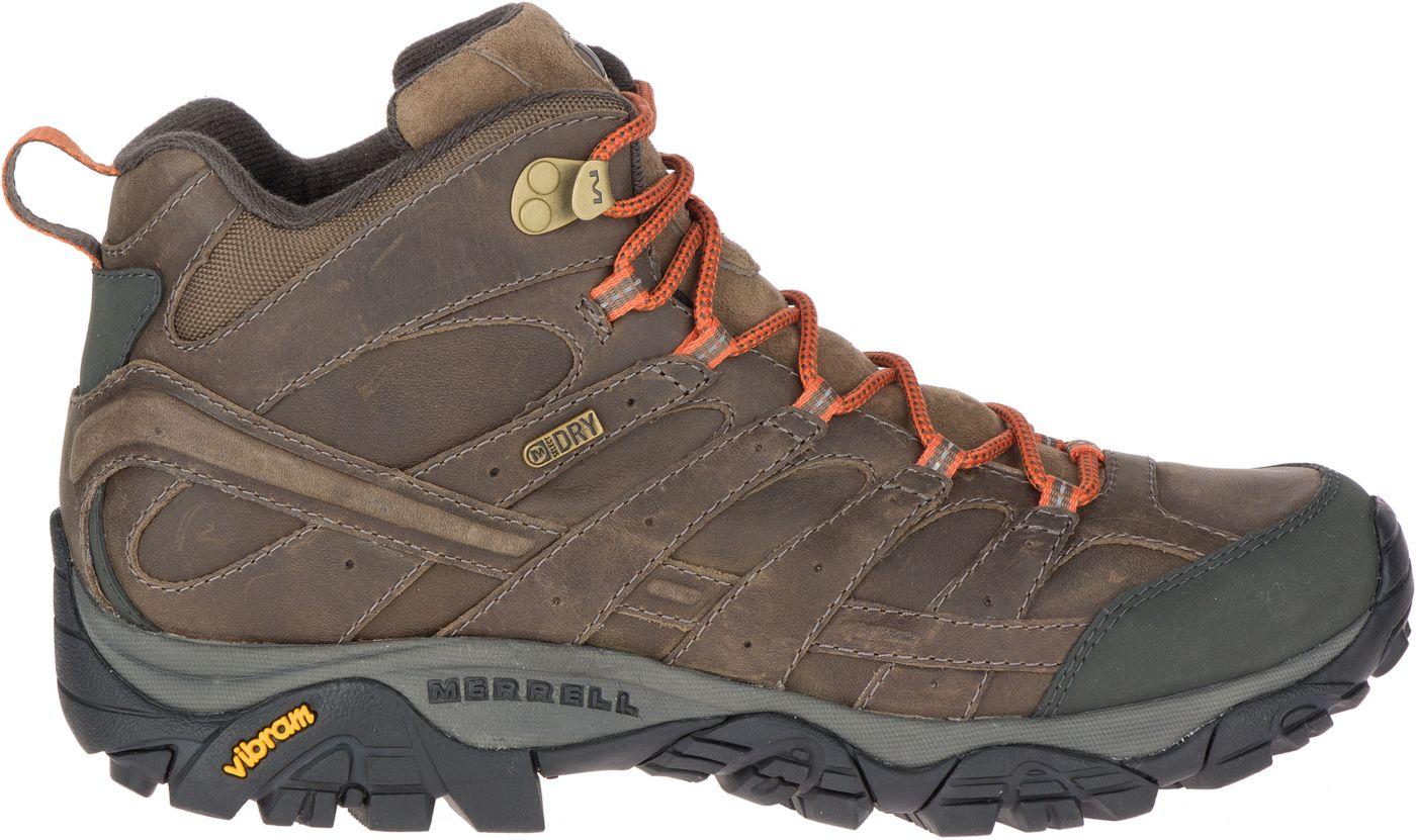 Merrell Men's Moab 2 Prime Mid Waterproof Hiking Boots
