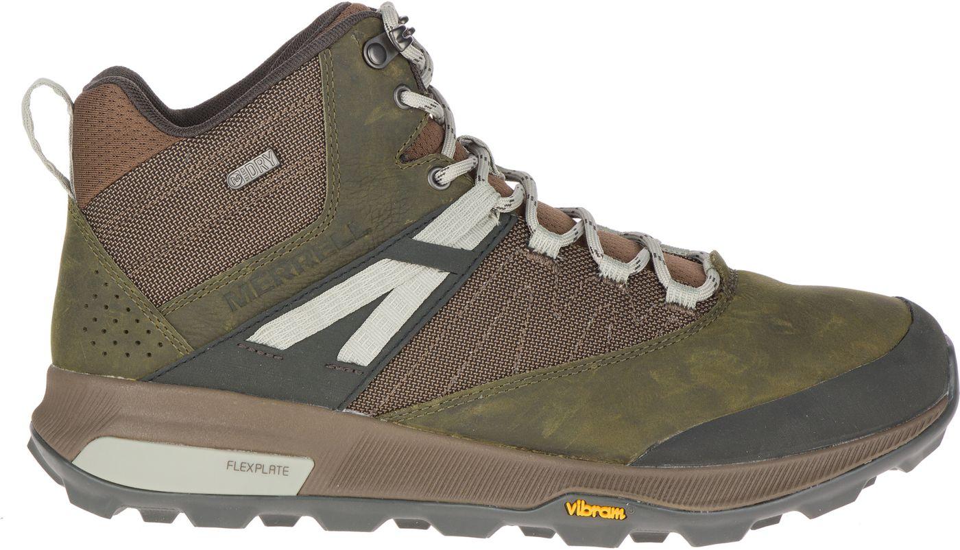 Merrell Men's Zion Mid Waterproof Hiking Boots