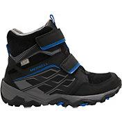 Merrell Kids' Moab FST Polar Mid A/C 200g Waterproof Winter Boots
