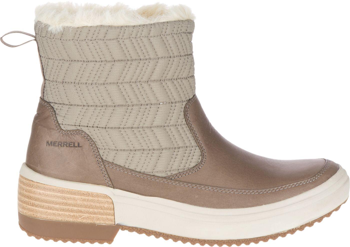 Merrell Women's Haven Bluff Polar Waterproof Boots