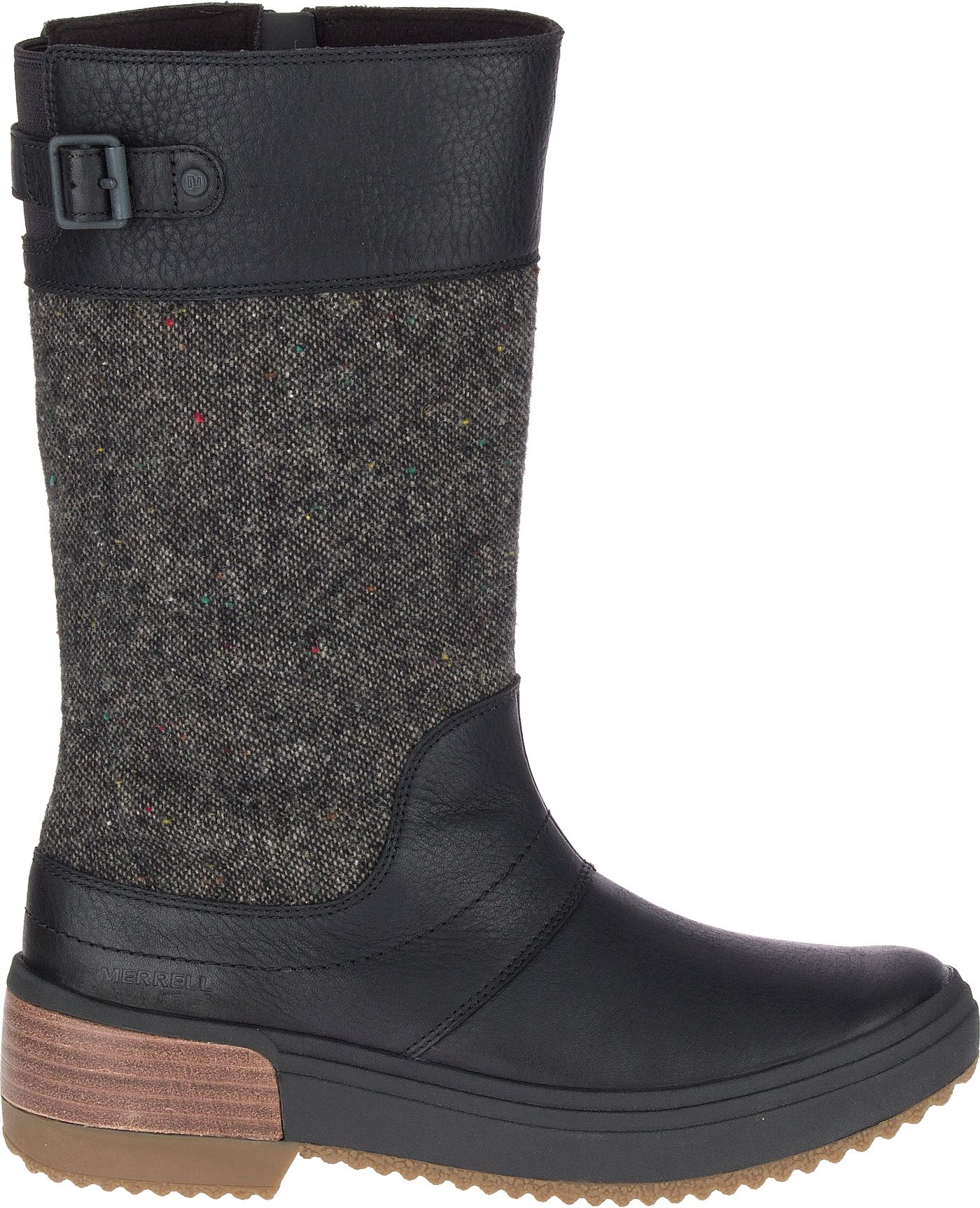 Merrell Women's Haven Tall Buckle Waterproof Boots