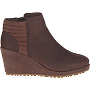 Merrell Women's Tremblant Wedge Bluff Waterproof Boots