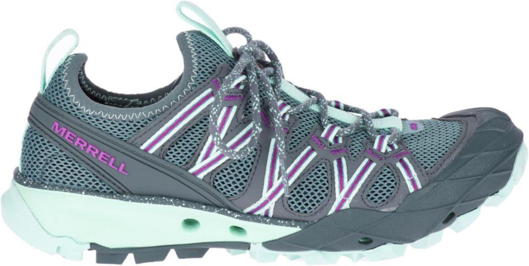 innovatiivinen muotoilu online jälleenmyyjä verkossa myytävänä Merrell Women's Choprock Hiking Shoes