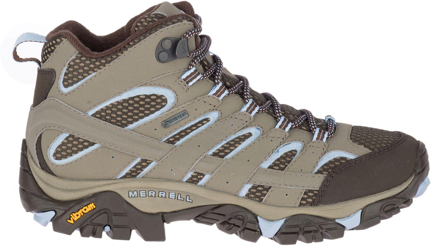 Merrell Women's Moab 2 Mid GTX Waterproof Hiking Boots