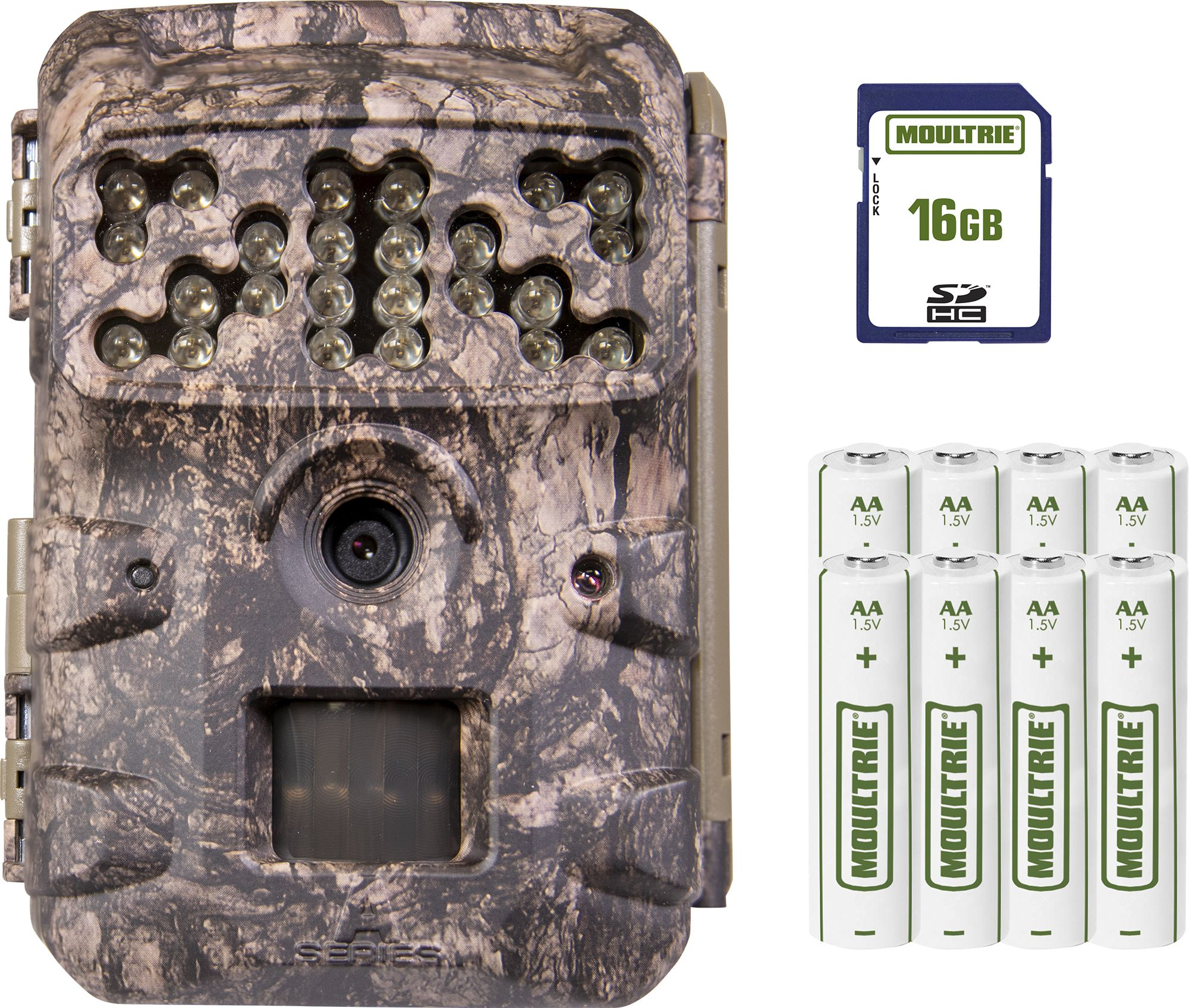 Moultrie A-Series D-700i Trail Camera Package – 16MP, night