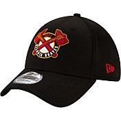 New Era Men's Atlanta Braves Black 39Thirty Clubhouse Stretch Fit Hat