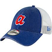 New Era Men's Atlanta Braves 9Forty Cooperstown Trucker Adjustable Hat
