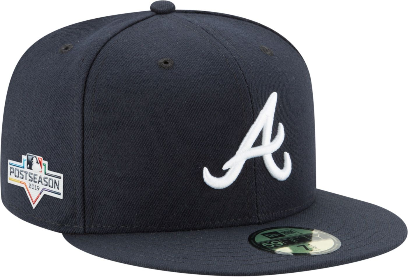 New Era Men's Atlanta Braves 59Fifty 2019 MLB Postseason Authentic Hat