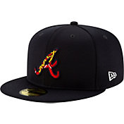 New Era Men's Atlanta Braves 59Fifty Navy Batting Practice Fitted Hat