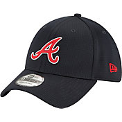 New Era Men's Atlanta Braves Navy 39Thirty Clubhouse Stretch Fit Hat