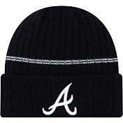 New Era Men's Atlanta Braves Navy Sports Knit Hat