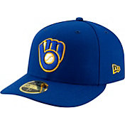 New Era Men's Milwaukee Brewers 59Fifty Alternate Royal Low Crown Fitted Hat