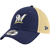 New Era Men's Milwaukee Brewers 39Thirty Stretch Fit Hat