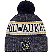 New Era Men's Milwaukee Brewers Sports Knit Hat
