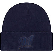 New Era Men's Milwaukee Brewers Vivid Knit Hat