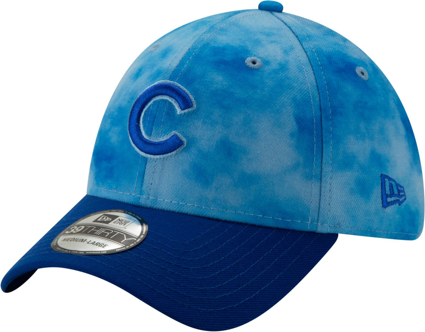 New Era Men's Chicago Cubs 39Thirty 2019 Father's Day Stretch Fit Hat