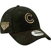New Era Men's Chicago Cubs 9Forty Armed Forces Adjustable Hat