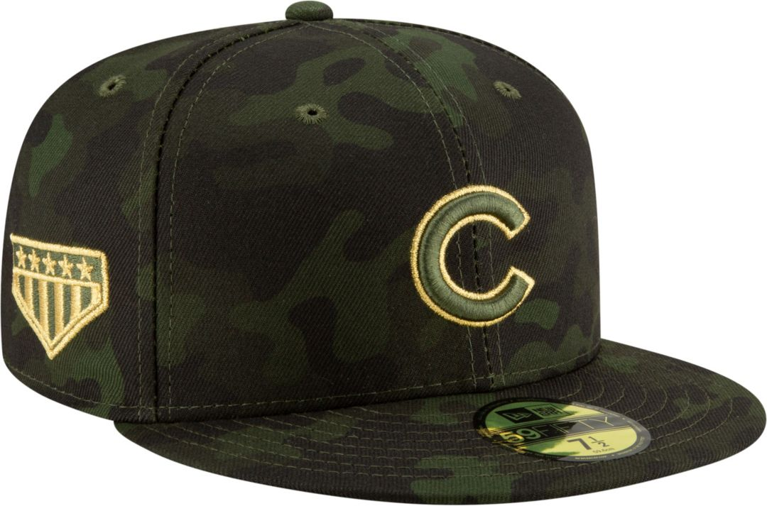 e8a24fe2 New Era Men's Chicago Cubs 59Fifty Armed Forces Fitted Hat   DICK'S ...