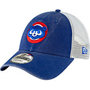New Era Men's Chicago Cubs 9Forty Cooperstown Trucker Adjustable Hat