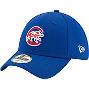 New Era Men's Chicago Cubs 39Thirty Blue Batting Practice Stretch Fit Hat
