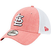 New Era Men's St. Louis Cardinals Red 39Thirty Heather Neo Stretch Fit Hat