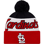 New Era Men's St. Louis Cardinals Script Knit Hat