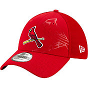 New Era Men's St. Louis Cardinals Red 39Thirty Tonel Neo Stretch Fit Hat