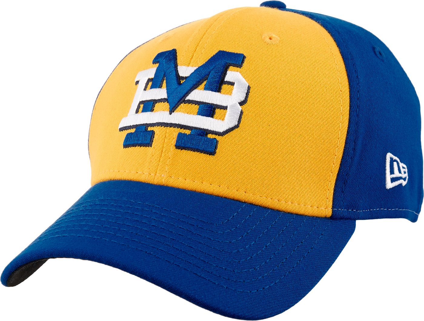 New Era Men's Carolina MudCats 39Thirty Theme Night Stretch Fit Hat
