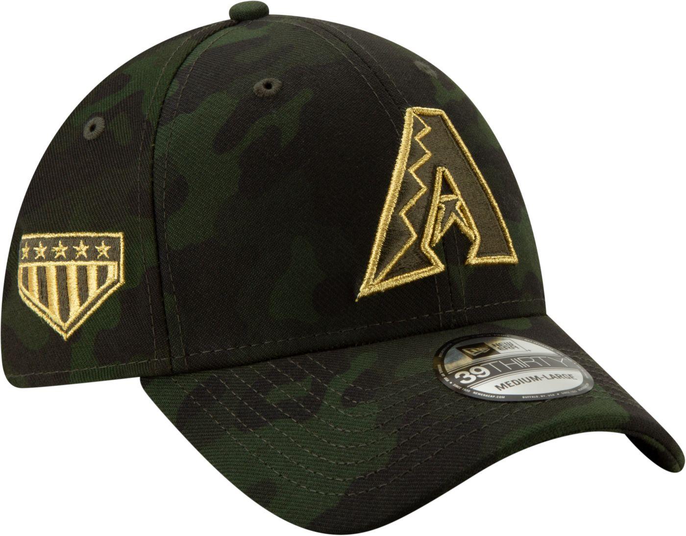 New Era Men's Arizona Diamondbacks 39Thirty Armed Forces Stretch Fit Hat