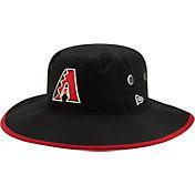New Era Men's Arizona Diamondbacks Black Basic Bucket Hat