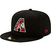 New Era Men's Arizona Diamondbacks 59Fifty Black Batting Practice Fitted Hat
