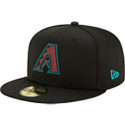 New Era Men's Arizona Diamondbacks Black 59Fifty Clubhouse Fitted Hat