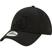 New Era Men's Arizona Diamondbacks Black 39Thirty Perftone Stretch Fit Hat
