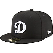 New Era Men's Los Angeles Dodgers 59Fifty Basic Black Fitted Hat