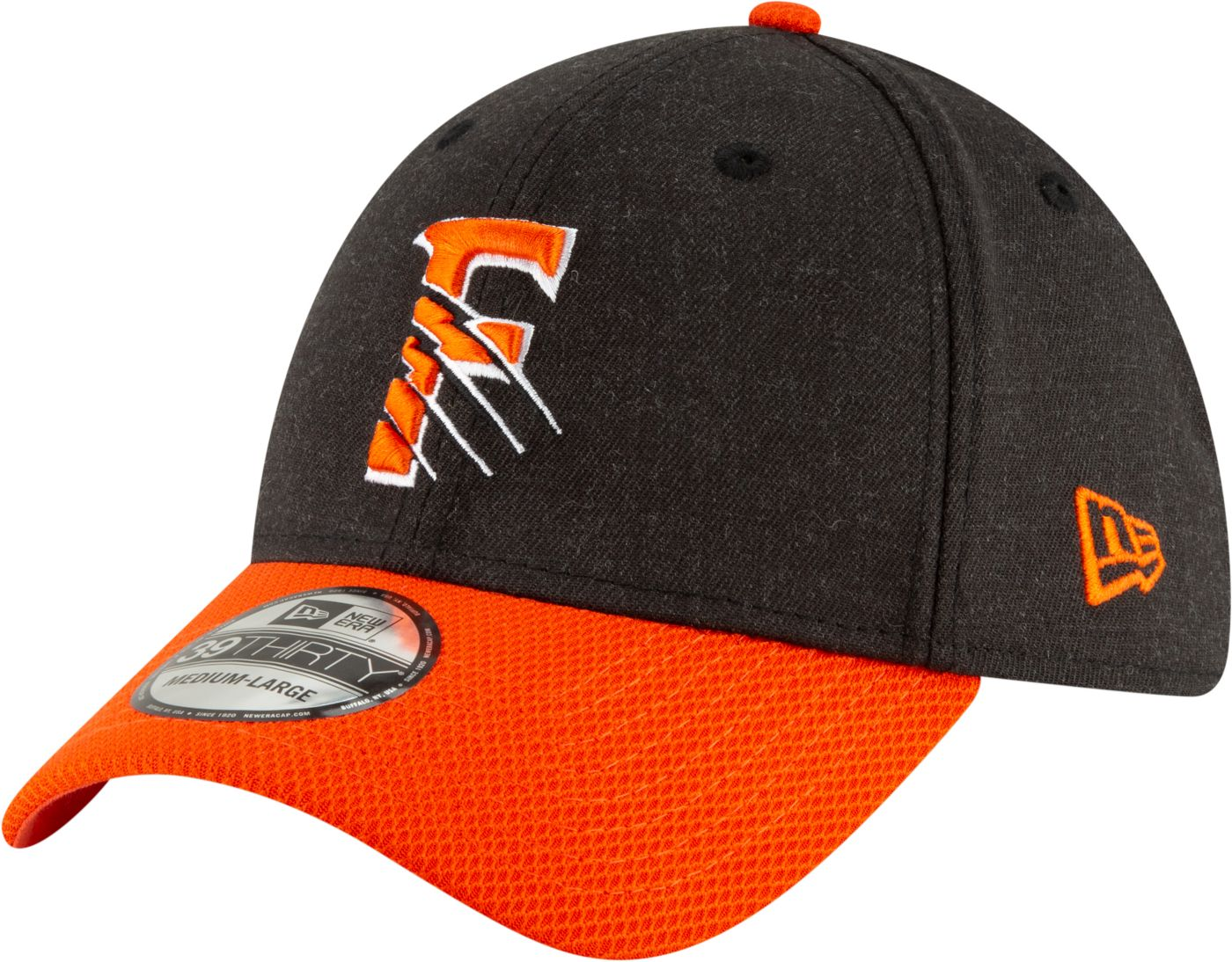 New Era Men's Fresno Grizzlies 39Thirty Stretch Fit Hat