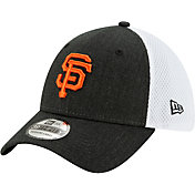 New Era Men's San Francisco Giants Black 39Thirty Heather Neo Stretch Fit Hat
