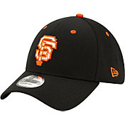New Era Men's San Francisco Giants 39Thirty Black Batting Practice Stretch Fit Hat