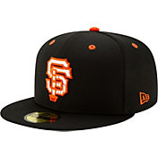 New Era Men's San Francisco Giants 59Fifty Black Batting Practice Fitted Hat