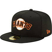 New Era Men's San Francisco Giants Black 59Fifty Clubhouse Fitted Hat