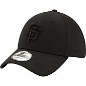 New Era Men's San Francisco Giants Black 39Thirty Perftone Stretch Fit Hat