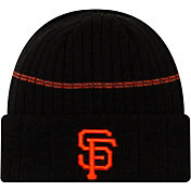 New Era Men's San Francisco Giants Black Sports Knit Hat