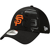 New Era Men's San Francisco Giants Black 39Thirty Tonel Neo Stretch Fit Hat