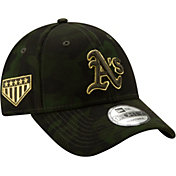 New Era Men's Oakland Athletics 9Forty Armed Forces Adjustable Hat