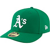 New Era Men's Oakland Athletics 59Fifty Alternate Green Low Crown Fitted Hat