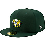 New Era Men's Oakland Athletics 59Fifty Green Batting Practice Fitted Hat